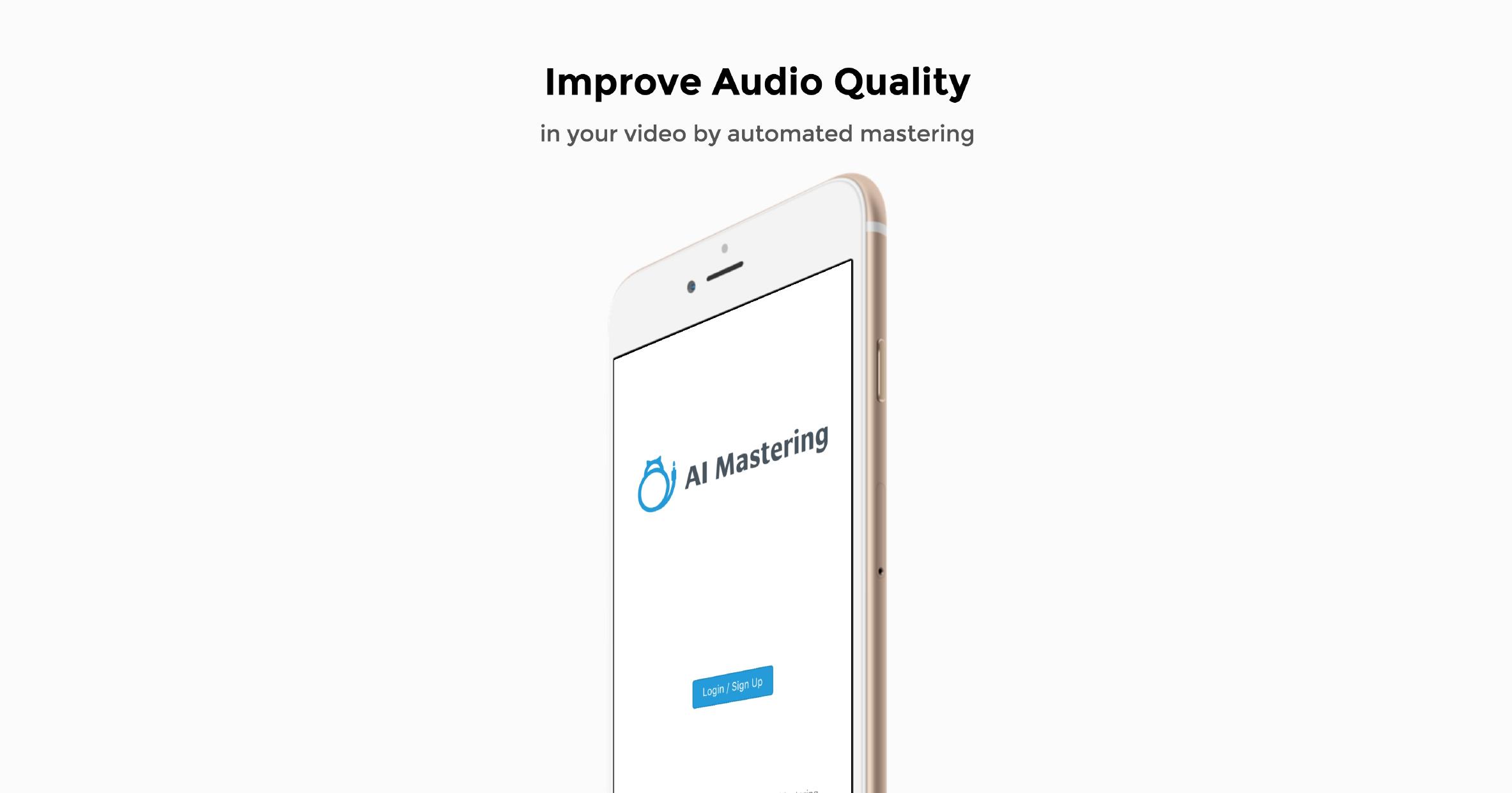 हमने स्मार्टफ़ोन के साथ ली गई फिल्मों की वॉल्यूम और ध्वनि गुणवत्ता बढ़ाने के लिए एक एप्लिकेशन जारी किया!
