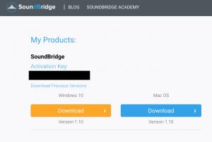 SoundBridge Download