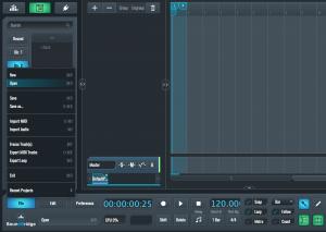 SoundBridge File Open