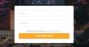 SoundBridge Sign up