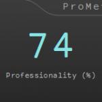 """Mise à jour du plug-in VST """"ProMeter"""" pour mesurer la prosness de la source sonore en v2.0.0"""